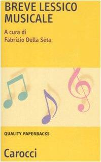 Breve lessico musicale