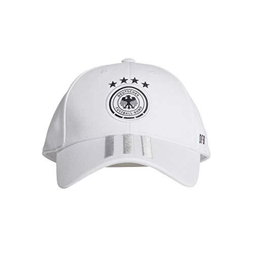 adidas Herren Kappe DFB Kappe, White/Lgsogr/Black, OSFY, FJ0826