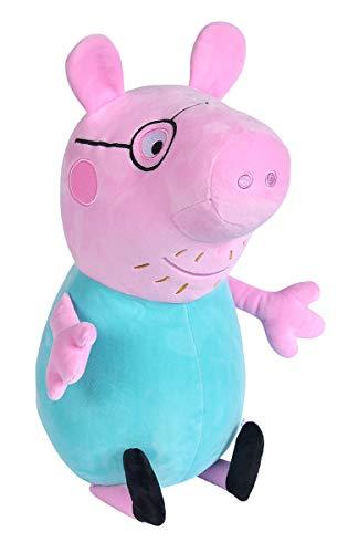Simba 109261005 Peppa Pig Plüsch Papa Wutz, 37cm