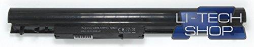 LI-TECH Batería compatible 2600 mAh negra para HP Pavillion Touchsmart 15-N052SS Notebook
