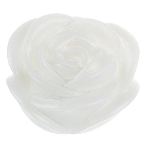 SODIAL(R) Veilleuse ¨¤ LED Design de Rose 7 Couleurs romantiques changeantes