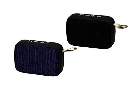 Altavoz PORTATIL Bluetooth Cuadrado USB SD Manos Libres Cable Carga Incluido ALM-2...