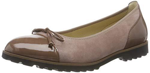 Gabor Shoes Damen Casual Geschlossene Ballerinas, Mehrfarbig (Dark-Rose/Dark-Nude 10), 39 EU