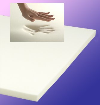 "Hot Sale SleepWarehouse Premier Plus 4lb 3"" Queen Memory Foam Mattress Topper with FREE Memory Foam Pillow"
