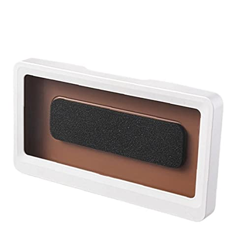 Tenedor de teléfono de baño, Ducha Eleva a prueba de agua Estuche de teléfono Montaje de pared Almacenamiento de alta sensibilidad Titular de teléfono móvil Caja blanca