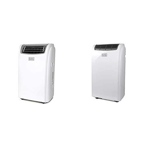 BLACK+DECKER BPACT12WT Portable Air Conditioner, 12,000 BTU, White & Black + Decker BPACT10WT Portable Air Conditioner, 10,000 BTU