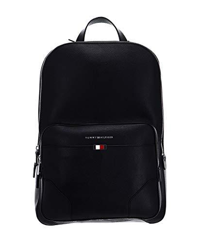 Tommy Hilfiger Business Leather Backpack Black