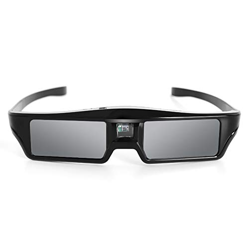 RUIHUA DLP Link 3D Glasses, Active Shutter 96-144HZ Rechargeable 3D Glasses for Benq Acer Xgimi Z4X/H1/Z5 Optoma Sharp LG P1502 H5360 Jmgo W1070 Projector,1PCS