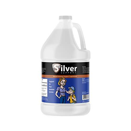 Nano Ionic Silver Technology 1 Gallon - Liquid Immune Booster for Kids, Pets & Adults Enhances Wellness - Next Generation Ionic Silver
