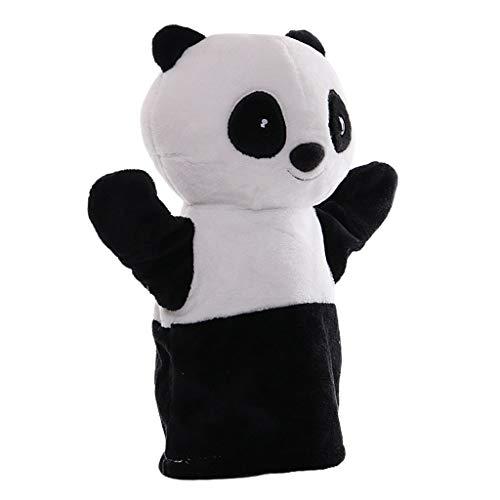 #N/A/a Marioneta de Mano de Dibujos Animados Juego de rol de bebé marioneta de Mano muñecas de Guante de Felpa Juguete - Panda