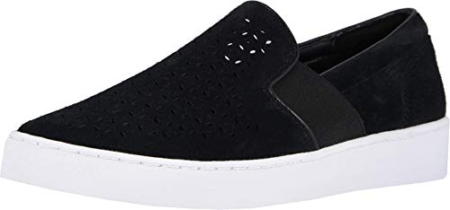 Vionic Women's Splendid Kani Slip-on Walking Shoes - Ladies Athleisure Sneakers with Concealed Orthotic Arch Support Black 10 Medium US