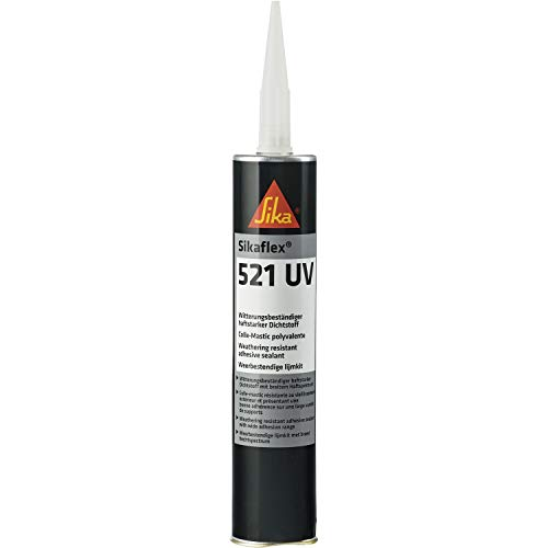 Sikaflex 521 UV Witterungsbeständiger haftstarker Dichtstoff 300 ml schwarz