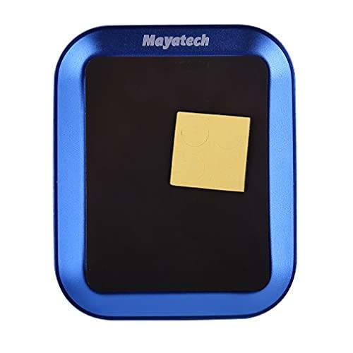 Kongqiabona-UK Mayatech Electronics Reparación de bandejas de Placa de Herramientas de Mano Bandeja de Tornillo de aleación de Aluminio con magnético para reparación de teléfono Modelo RC
