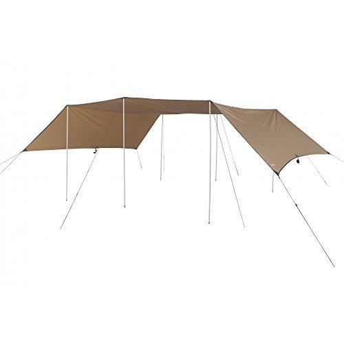 OZtrail Camper Fly - étanche, bâche, Toile de Tente, bâche Anti-Pluie, bâche imperméable, abri de randonnée - Double Toit Camper 590x360cm 1.9Kg, Taille du Colis: 60x23x5cm