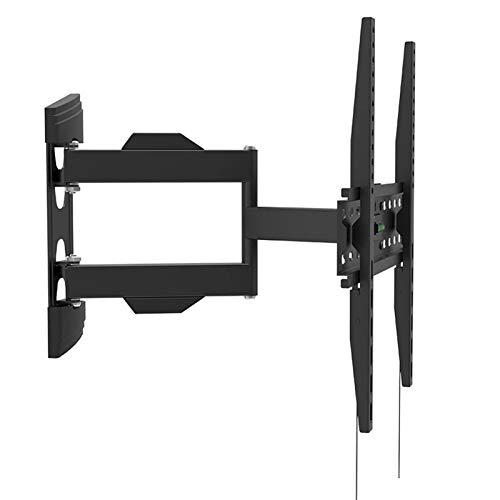 Soporte de Montaje de Pared de TV Giratorio de inclinación de Movimiento Completo for 26-55'LCD LED TV VESA de hasta 400 x 400 con Cable HDMI Gratuito