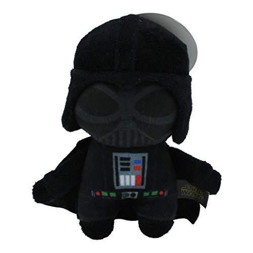 Star Wars Plush Darth Vader Figure Dog Toy   Soft Squeaky Dog Toy   Medium