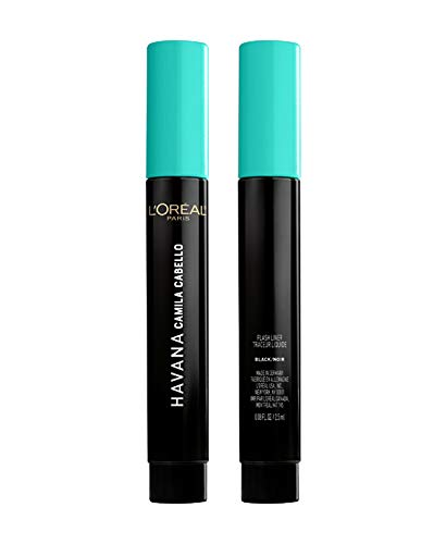 L'Oréal Paris Make-up designer, Camila Cabello Delineador de Ojos, Tono 01 Negro, 2.5 ml