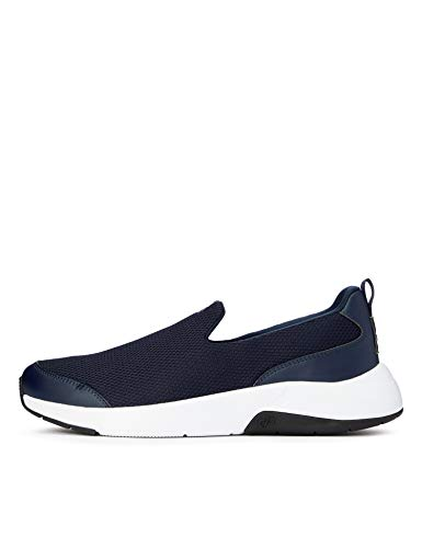 CARE OF by PUMA Slip on Runner Low-Top Sneakers, Azul (Navy Blazer-Oatmeal), 42 EU