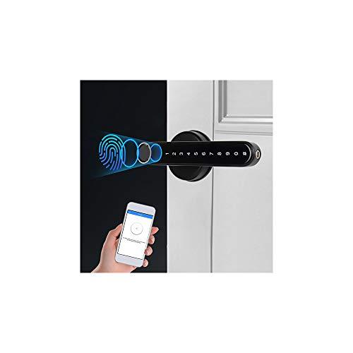 GIFSIN Smart Türschloss Fingerabdruck Türschloss Elektronisches Bluetooth Mechanisches Türschloss /App/Code/Schlüssel/Fingerabdruck