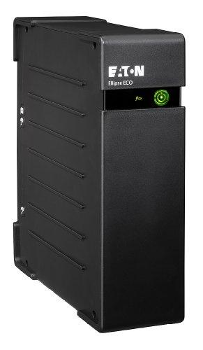 Eaton Ellipse ECO 650 USB DIN - Unterbrechungsfreie Stromversorgung (USV) 650 VA mit Überspannungsschutz (4 Schuko Ausgänge)