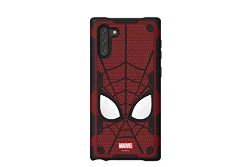 haainc Samsung Galaxy Friends Spider-Man Rugged Protective Smart Cover for Note 10