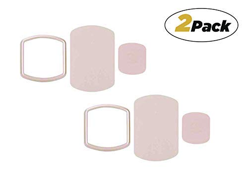 Scosche MPKRG2PK-UB MagicMount Magnetic Mount Trim Rings and Replacement Plate Kit for Mobile Devices, Rose Gold (Pack of 2)