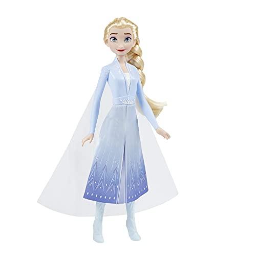 Disney Frozen Hasbro Elsa (Fashion Doll con Capelli Lunghi e Abito Ispirato al Film Frozen 2)