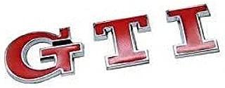 1pcs Red GTI Emblem Badge Decal Sticker Fit For Volkswagen Car Model