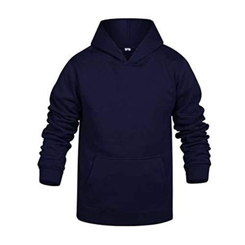 Mr.BaoLong&Miss.GO Suéter con Capucha para Hombre Suéter De Cuello Redondo con Capucha Abrigo De Pareja Suéter Informal