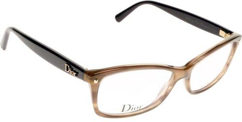Dior Occhiali da sole Da Donna CD3232 - PW5: Marrone striato / Viola - 54mm