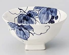 World Ceramic Bowl Hand-Drawn Seto Grape Mino-yaki 354-336