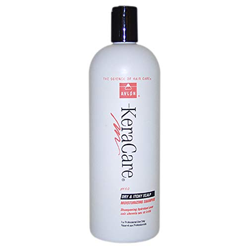 Avlon KeraCare Dry & Itchy Scalp Anti-Dandruff Moisturizing Shampoo 32 oz