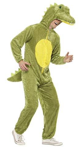 Smiffys Costume de crocodile, comprend combinaison pantalon avec capuche