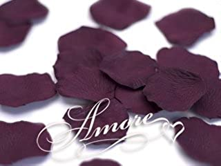 200 Wedding Artificial Silk Rose Petals Rave Wine