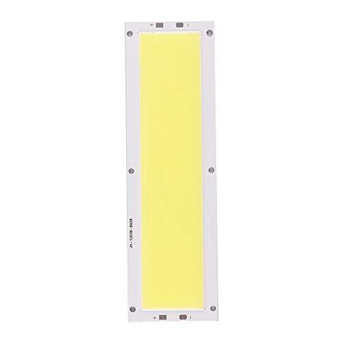 Konesky COB LED Chip 20W LED Chip perline Basso consumo energetico Lampada super brillante Stoppino bianco freddo (4 Pack)