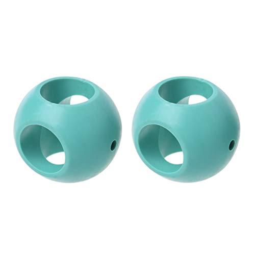ZJL220 2 pièces Anti-calcaire Boules de blanchisserie magnétiques purifiée Boule d'eau Accessoires de Machine à Laver