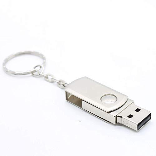 Vqxrhf Un Disco en U de Gran Capacidad y Grasa giratoria de Metal, Personalidad Creativa, portátil, Mini Ordenador, Coche, Regalo de Doble Uso