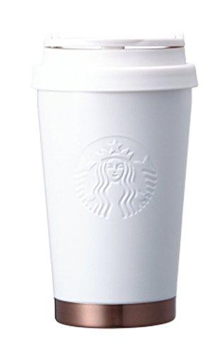 海外限定 スタバ エルマクラシックホワイトタンブラー Starbucks SS Elma classic white tumbler 355ml [並...