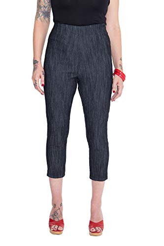 Queen Kerosin Capri Jeans