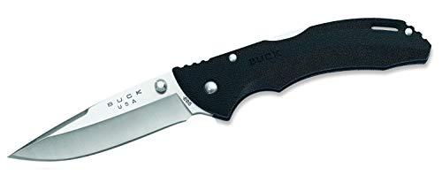 Buck Messer Einhandmesser Bantam Länge geöffnet: 19.3 cm, schwarz, 11 cm