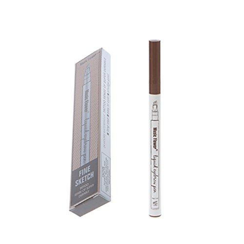 Wanfor Perfekter wasserdichter Augenbrauen Stift, für dauerhaftes Make-up Zubehör, dauerhafte...