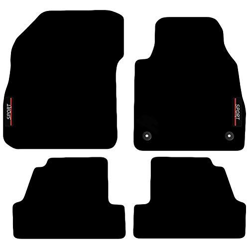 Carsio Maßgeschneiderte Auto-Fußmatten mit Logo für Opel Mokka/X ab 2012.
