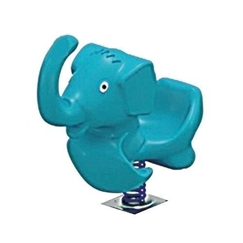 YumEIGE schommelspeelgoed, hobbelpaard voor kleuterschool, algemeen outdoor speelgoed, 31,4 × 15,7 × 33,4 inch, oefening hand-oog-coördinatie, schommeldier voor babybelasting 100 kg
