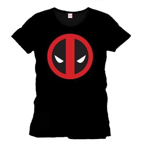 Marvel Deadpool T-Shirt, Nero (Schwarz), XXL Uomo