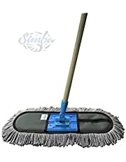 Simba Wet and Dry Cotton Pad Floor Mop 67x14x5 (18-Inch) Colour May Vary