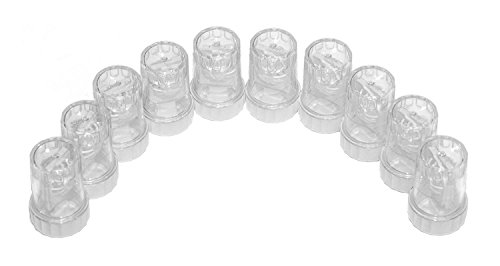 Sports Vision's Kontaktlinsenbehälter - Üblich Typ Barrel 10 Stück CE-gekennzeichnet und FDA-zugelassen