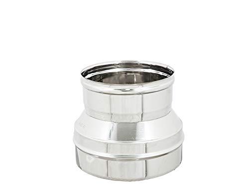 Riduzioni Aumenti Inox Aisi 304 6 Dc - Canne Fumarie Tubi - (150M-80F)