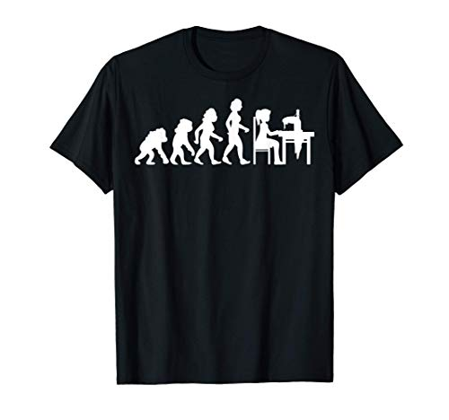 Évolution couturière machine à coudre T-Shirt