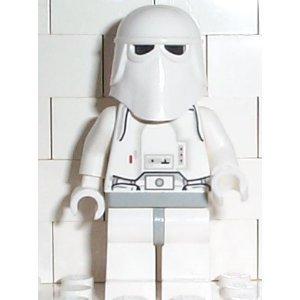 Lego Star Wars Minifigur - Snowtrooper mit Waffe