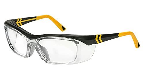 OnGuard Safety OG-225S Eyewear w/Dust Dam Black/Yellow 57mm 61mm (61-17-135)